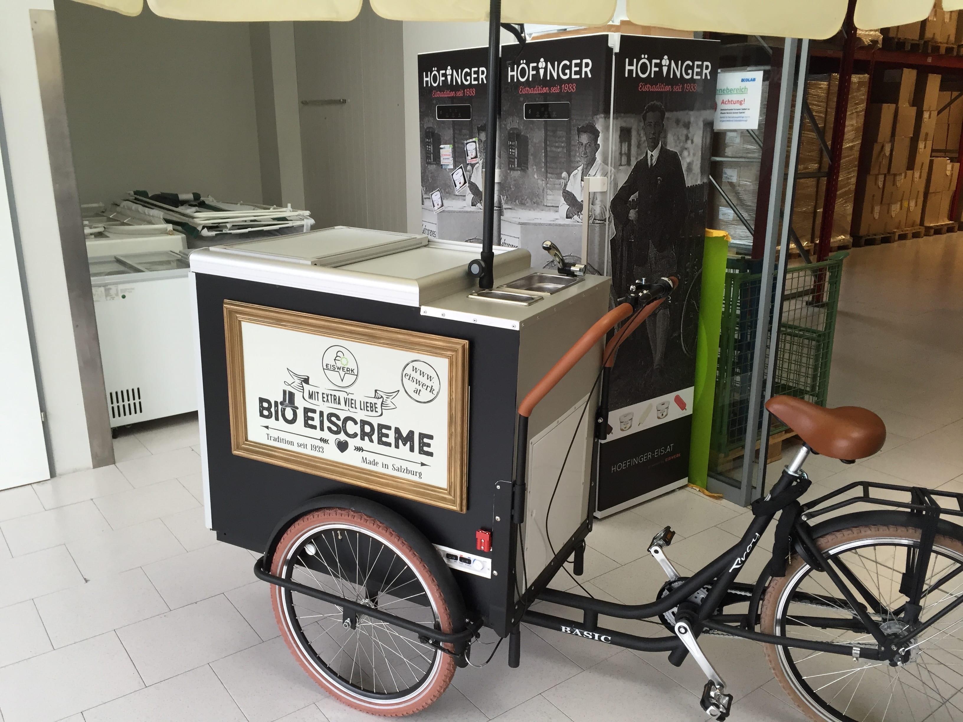 """Eis-Bike"""" als Hingucker bei Ihrer Veranstaltung"""