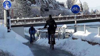 8. Februar: internationaler Winter-Bike-to-Work-Tag.