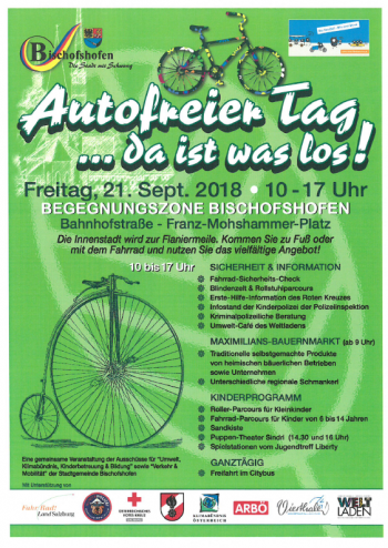 21. September: autofreier Tag in Bischofshofen
